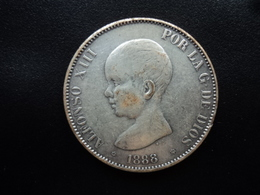 ESPAGNE : 5 PESETAS  1888 (18)(88) MS - M   Type KM 689 *   TTB - Fictifs & Spécimens