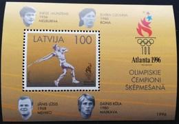 Latvia  1996 Summer Olympic Gamas, Atlanta S/S - Latvia