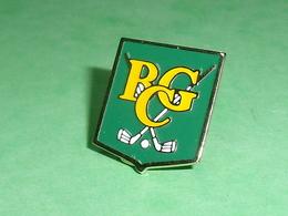 Pin's / Golf  : RCG     TB1Z - Golf