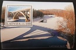 Latvia  2003 Gauja River Bridge,Sigulda S/S  POSTAGE TO BE ADDED ON ALL ITEMS - Latvia