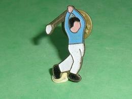 Pin's / Golf  : Joueur     TB1Z - Golf