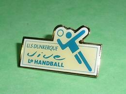 Pin's / Hanball  : Us Dunkerque    TB1Z - Handball