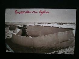 MISSIONS CONSTRUCTION D'UN IGLOO - Amérique