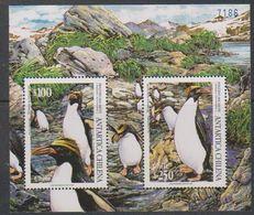 Chile 1995 Penguins M/s ** Mnh (39724) - Chili