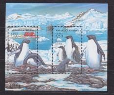 Chile 1993 Antarctica / Penguins M/s  ** Mnh (39724A) - Chili