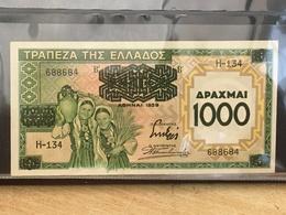 Greece Banknote 1000 Drachmai 1939 Banknote - Unc, Mint. - Grèce