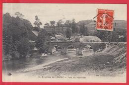 CPA-19- Environs De LONZAC , Pont De PEYRISSAC **- 2 SCANS - Autres Communes