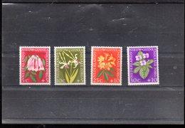 NLLE GUINEE NEERLANDAISE 52/55** SUR DES FLEURS - Nouvelle Guinée Néerlandaise