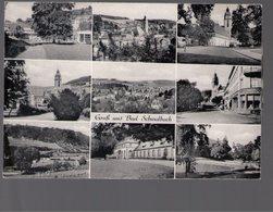 U3218 POSTCARD 1966 GRUSS AUS Bad Schwalbach (HESSEN)  + NICE TIMBRE AND STAMP, STORIA POSTALE - Bad Schwalbach