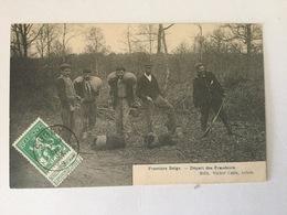SUGNY 1906  FRONTIERE- BELGE  DEPART DES FRAUDEURS - Vresse-sur-Semois