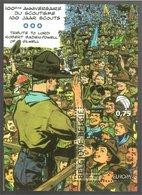 België/Belgique 2007 Robert Baden Powel Of Gilwell 100 Ans/jaar Scouts (Jijé) - Foglietti