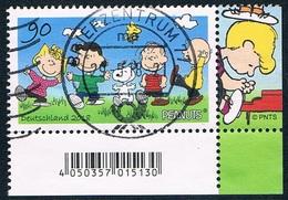 Allemagne Fédérale - Peanuts 3152 (année 2018) Oblit. - Oblitérés