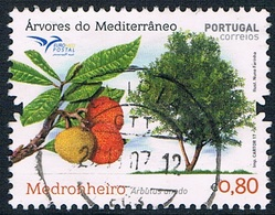 Portugal - Arbre : Arbousier 4273 (année 2017) Oblit. - 1910-... République