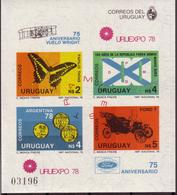 Soccer  World Cup 1978 - URUGUAY - S/S Imp. MNH - 1978 – Argentina