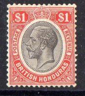 HONDURAS  BRITANNIQUE  ( POSTE ) : Y&T N°  99  TIMBRE  NEUF  AVEC  TRACE  DE  CHARNIERE . - British Honduras (...-1970)