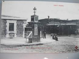 CPA Tout Paris Carte Postale Ancienne Paris XX Porte De Montreuil - Arrondissement: 20