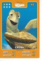 Carte Disney Pixar Auchan 2015  N° 40 Némo CRUSH - Disney