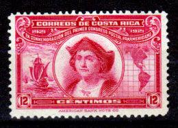 Costa-Rica-0020 - Emissione 1923-26 (+) Hinged - Senza Difetti Occulti. - Costa Rica