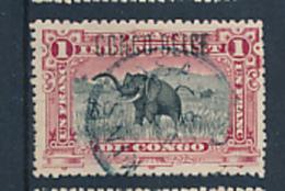 BELGIAN CONGO BOX 2  1909  ISSUE COB 36L5 USED - Belgian Congo