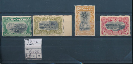 "BELGIAN CONGO BOX 2  1909 ISSUE ""UNILINGUE"" COB 50/53 MNH - Belgisch-Kongo"