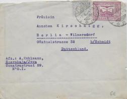 INDES NEERLANDAISES - 1934 - LETTRE De SOERABAJA => BERLIN (ALLEMAGNE) - Nederlands-Indië