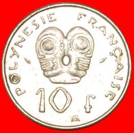 # TIKIS: FRENCH POLYNESIA ★ 10 FRANCS 1992! LOW START ★ NO RESERVE! - Polynésie Française