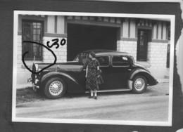 Voiture Voisin C30 De Profil - Automobile