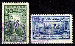 Costa-Rica-0022 - Emissione 1924 (o) Used - Senza Difetti Occulti. - Costa Rica