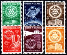 Costa-Rica-0024 - Emissione Di Posta Aerea 1955 (++) MNH - Senza Difetti Occulti. - Costa Rica