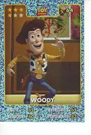 Carte Disney Pixar Auchan 2015  N° 64 TOY Story WOODY - Disney