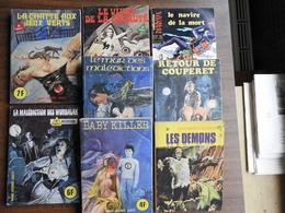 Lot De 8 BD Adultes Horreur - Bücher, Zeitschriften, Comics