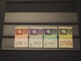 ANTARTICO BRITANNICO - 1971 POLO SUD/TEMATICHE  4 VALORI - NUOVI(++) - Nuovi