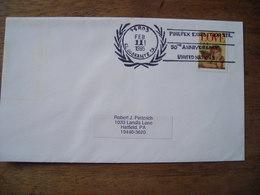 Bureau Temporaire 1995 Pinepex Exhibition 50th United Nations El Sobrante Ca - Storia Postale