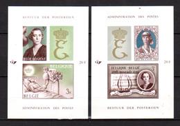 1966  Belgique, Musique, Mozart, Reine Elisabeth, BF 40/41** N D (tirage 370 Ex), - Belgique