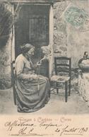 CARTE POSTALE DE CARGESE / FILEUSE / CORSE - Autres Communes