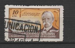 ESPAGNE ; EMISSION COMMEMORATIVE 20 OCT 1945 TELECOMMUNICATION ZARAGGOZA. - Vignettes De Fantaisie