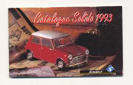 MINI CATALOGUE SOLIDO  1993 - France