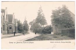 Camp De Berverloo - Route De Heppen  (Geanimeerd) - Leopoldsburg