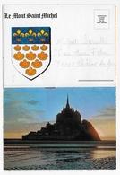 (RECTO / VERSO) LE MONT SAINT MICHEL - FEUILLET  FORMAT CPA - Le Mont Saint Michel