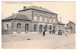 Bourg-Léopold - Vue Extérieure De La Gare   (Geanimeerd) - Leopoldsburg