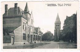 Bourg-Léopold - Kerk En Postgebouw 1962  (Geanimeerd) - Leopoldsburg