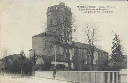 CPA 65 - Maubourguet Eglise Prise Du Pont De L'Adour - Maubourguet