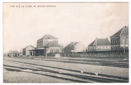 Vue Sur La Gare De Bourg-Léopold 19.. - Leopoldsburg