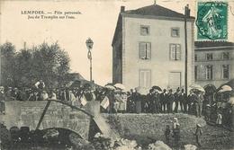 43 - LEMPDES - JEU DU TREMPLIN SUR L'EAU - FÊTE PATRONALE - France