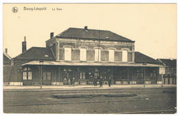 Bourg-Léopold - La Gare 1921  (Geanimeerd) - Leopoldsburg