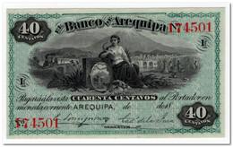 PERU,BANCO DE AREQUIPA,40 CENTAVOS,18xx,P.S116,UNC - Peru