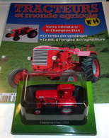 Tracteurs Et Monde Agricole N° 14 : Le Champion Elan - 1956-Hachette - Autres Collections
