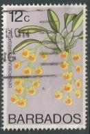 Barbados. 1974 Orchids. 12c Used. SG 492 - Barbados (1966-...)