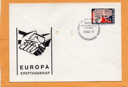 Liechtenstein 1962 FDC - FDC
