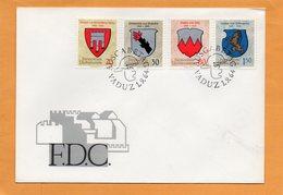 Liechtenstein 1964 FDC - FDC